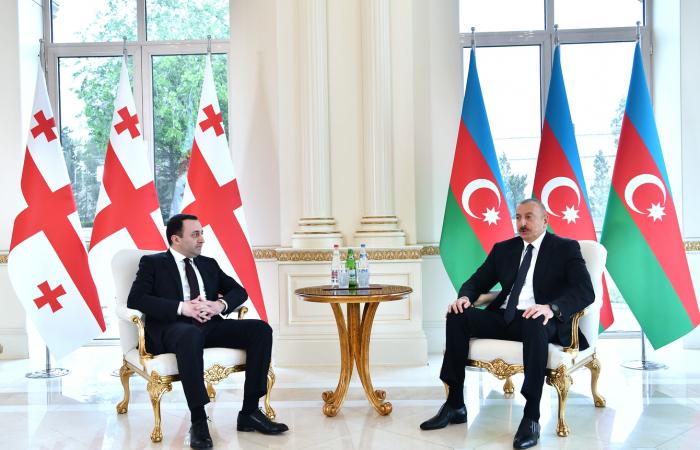 Georgian and Azerbaijani leaders meet in Baku
