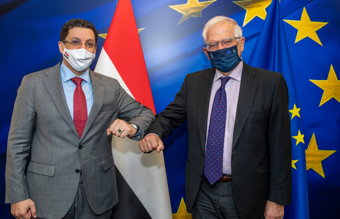 Borrell highlights strong EU support for the Yemeni people and government