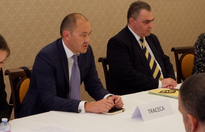 TRACECA seeks closer co-operation with EU in implementing its connectivity agenda Europe-Caucasus-Asia