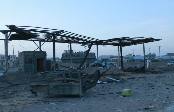 Houthis attack petrol station in Yemen killing 14 civilians