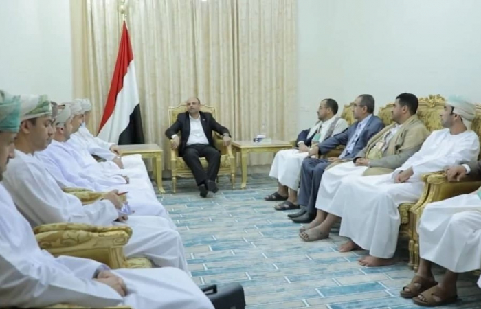Omani delegation meets with the Houthi leadership in Sanaa
