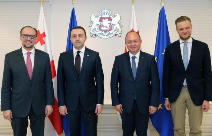 EU Ministerial Mission concludes whistlestop tour of South Caucasus
