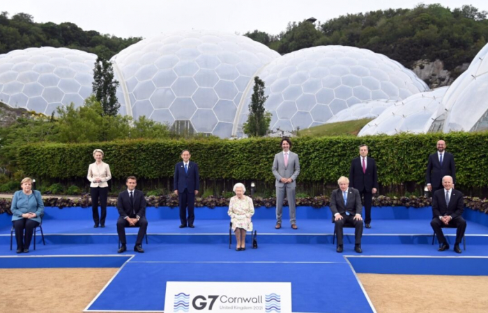 G7 leaders meet in Cornwall to discuss the main issues of our time