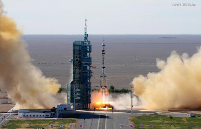 China launches crewed Shenzhou-12 spacecraft from Gobi Desert