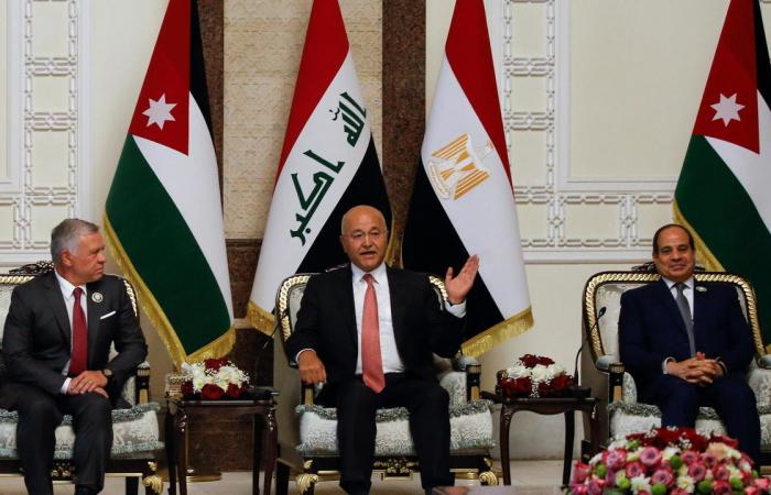 Egypt, Jordan and Iraq hold summit in Baghdad