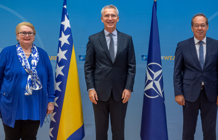 NATO and Bosnia and Herzegovina discuss further strengthening of relations