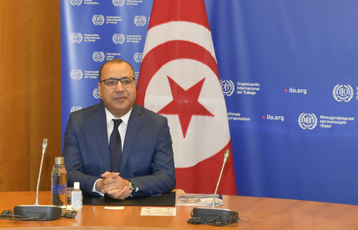 Tunisian prime minister says he is ready to step down to ensure smooth transfer of power