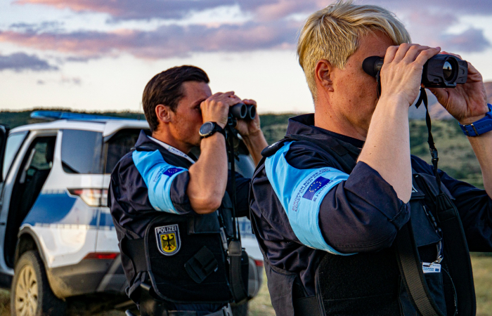 Frontex doubles border protection at Lithuanian-Belarusian border