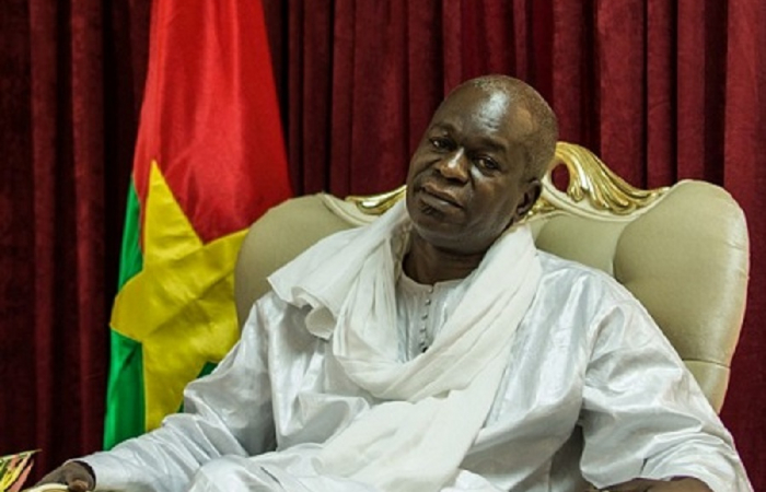 The president of Burkina Faso dismisses his ministers of defence and security, following popular demands after terrorist attacks