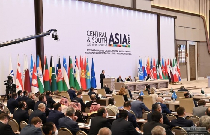 Tashkent hosts major conference focusing on Central and South Asia