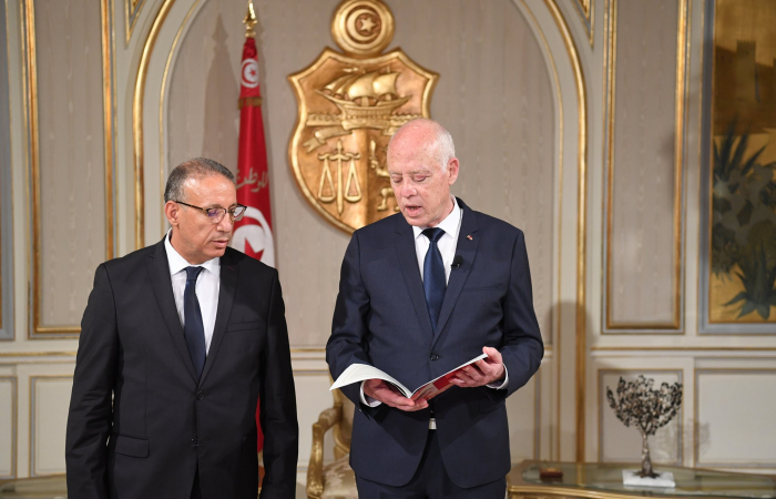 Tunisian president charges former national security adviser to temporarily run interior ministry