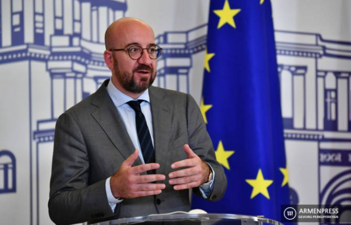 Charles Michel in Armenia at the start of a regional tour