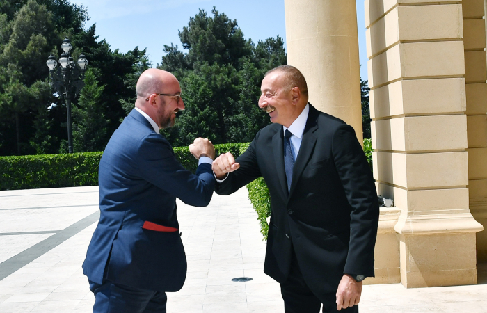 In Baku, Michel emphasises increased EU engagement with the South Caucasus