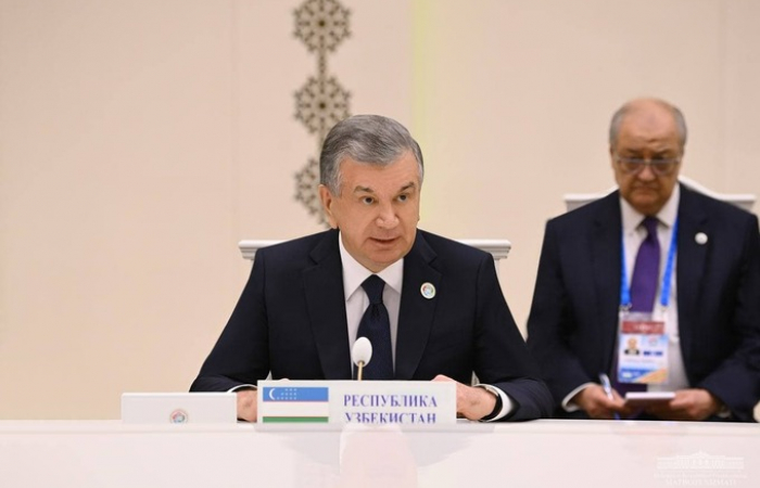 Mirziyoev nominated for second term as president of Uzbekistan ahead of October elections
