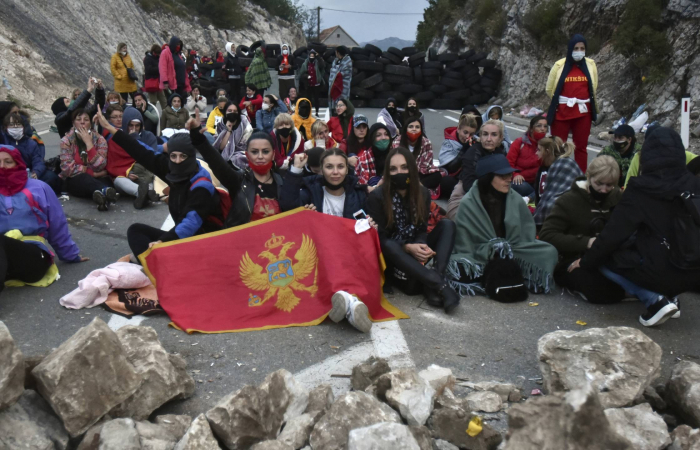 Clashes in Montenegro over the inauguration of new Serbian Orthodox Patriarch