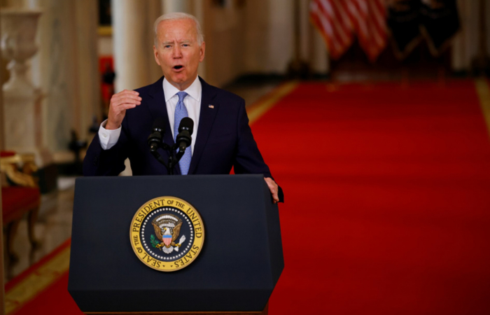 Biden: The time of nation-building is over, we must focus on Russia and China
