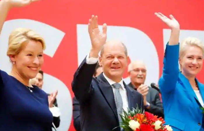 Not quite a political earthquake, but change is in the air in Germany