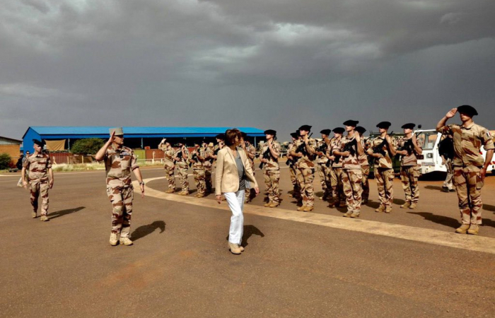 """French Armed Forces Minister calls Mali's accusations of being abandoned by France """"indecent"""""""