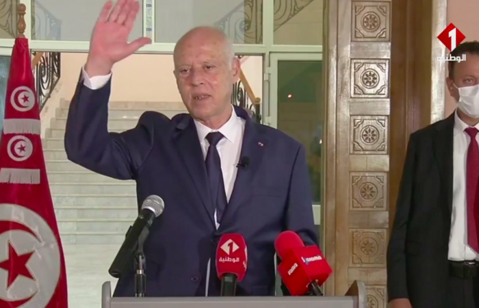 Tunisian president promises new head of government but exceptional measures maintained