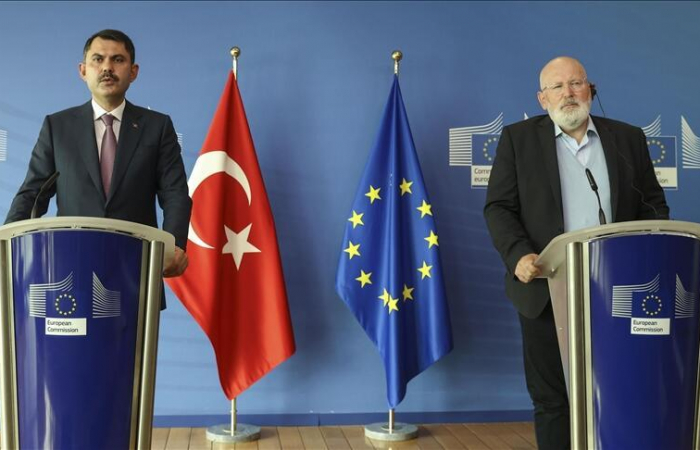 """Turkey and EU discuss climate change at """"excellent"""" first high level dialogue"""