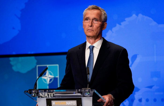 """NATO chief not enthusiastic about EU plans for """"first entry force"""""""