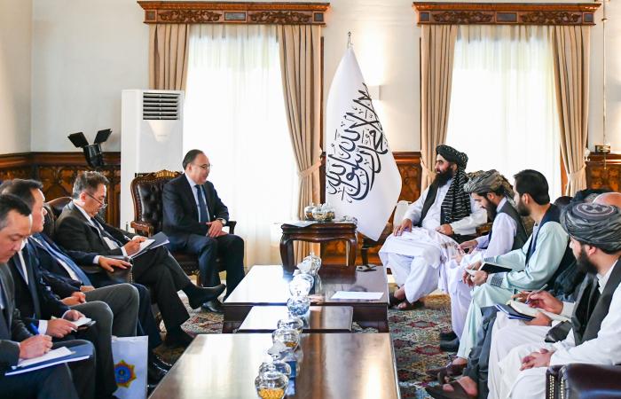 Kazakh Delegation visits Kabul for talks with Taliban