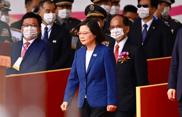 Taiwanese president says she will not bow to Chinese pressure