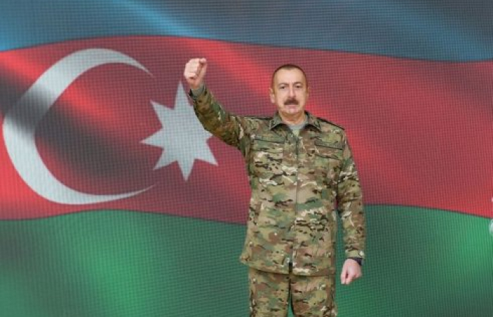 Azerbaijan president says his army is in Shusha
