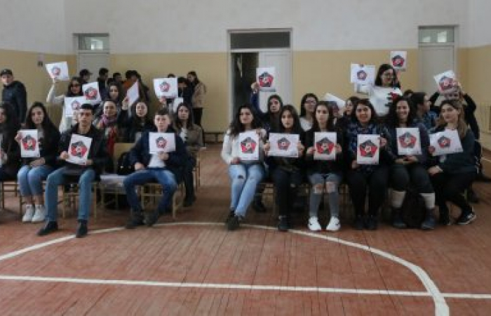 LANDMINE FREE SOUTH CAUCASUS campaign in Armenian mine affected districts