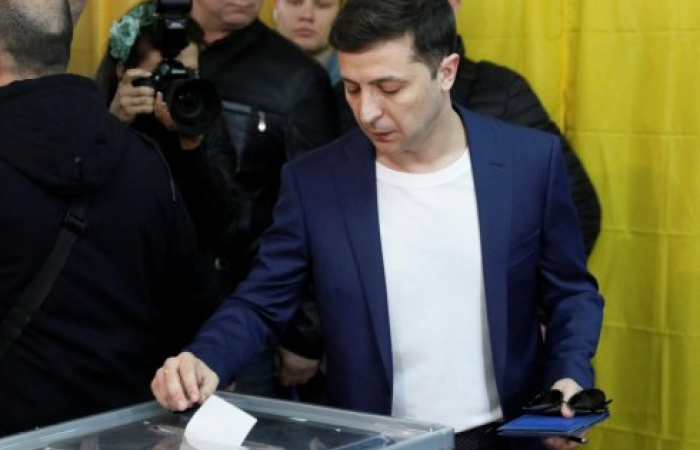 Volodymyr Zelensky is Ukraine's new president