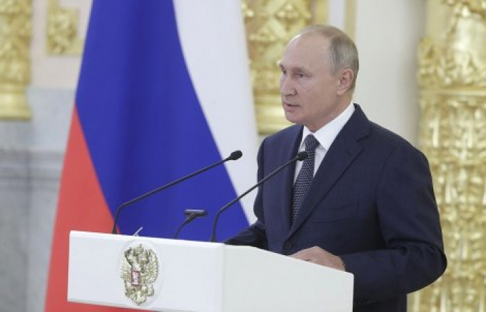 Putin again speaks about the Karabakh conflict