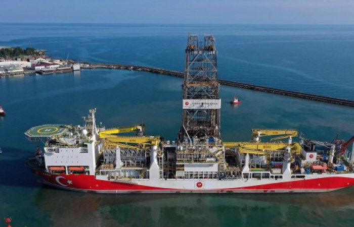Turkey discovers 320 billion cubic meters natural gas reserve in the Black Sea