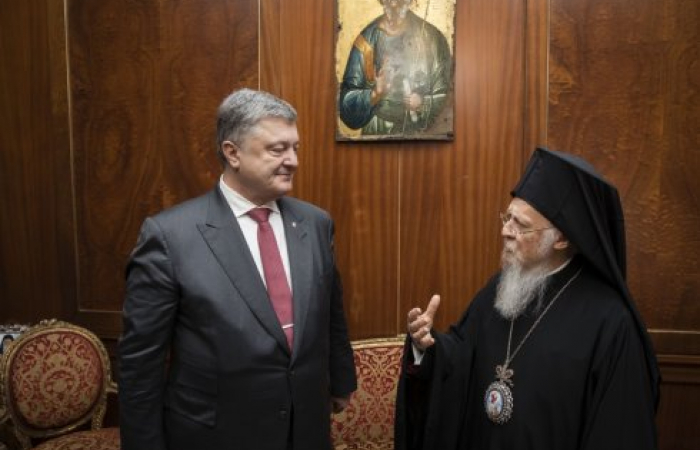 Ukraine signs agreement with the Ecumenical Patriarchate of Constantinople
