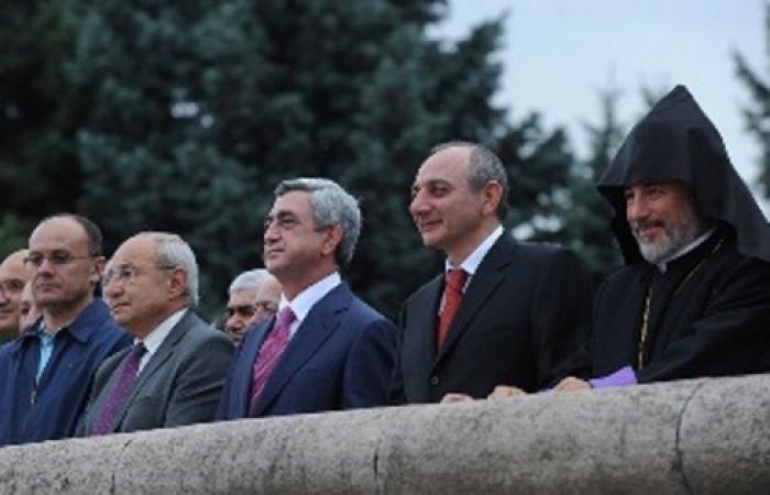 "Armenians celebrate 20th anniversary of ""Nagorno Karabakh Republic"""