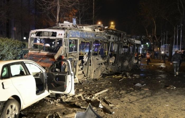 Terrorist attack in Ankara