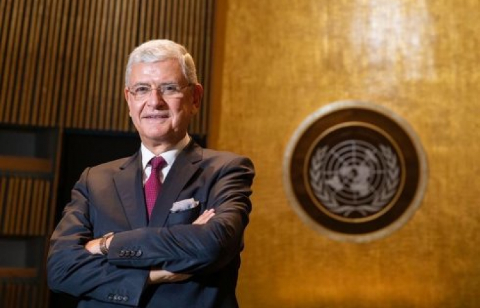Turkish diplomat heads UN General Assembly for first time