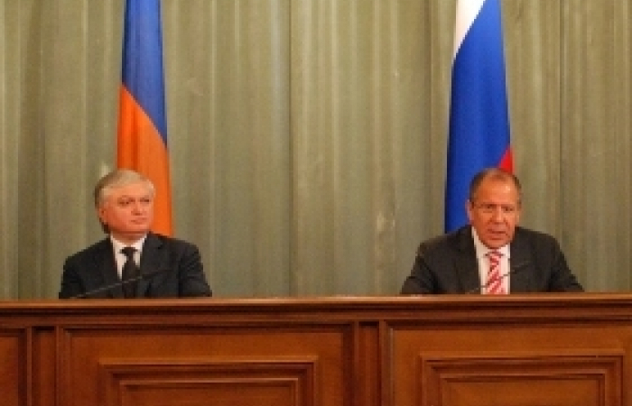 Lavrov and Nalbandian meet in Moscow