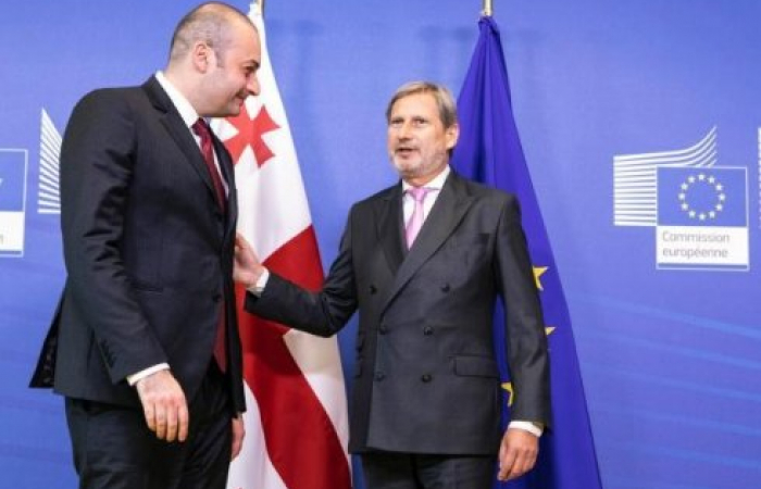 Principled support for Georgia on its way to European integration