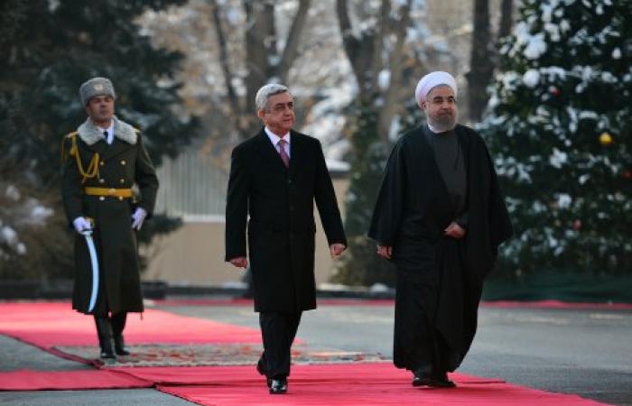 Iranian President Rouhani visits Armenia