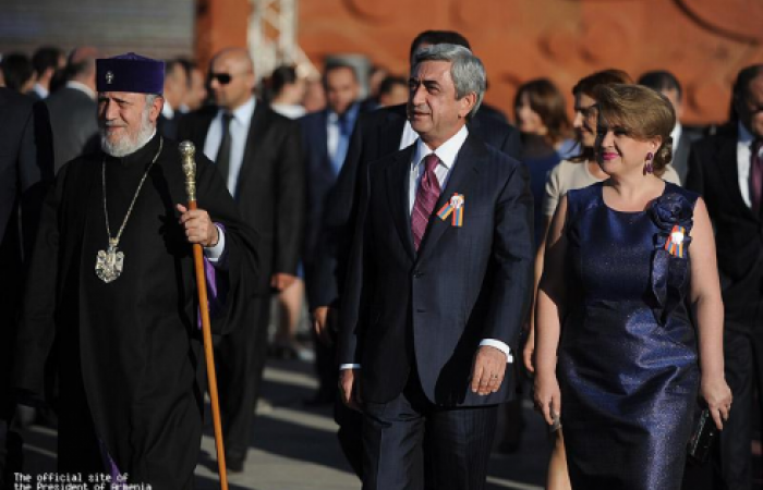 Armenia starts celebrations to mark the 20th anniversary of independence