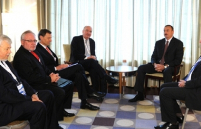 Aliev meets with OSCE Minsk Group co-Chair