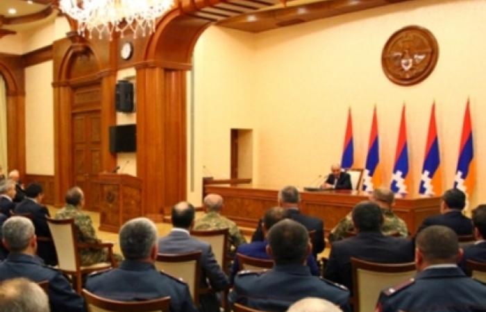 Karabakh leader wants exemplary parliamentary elections.