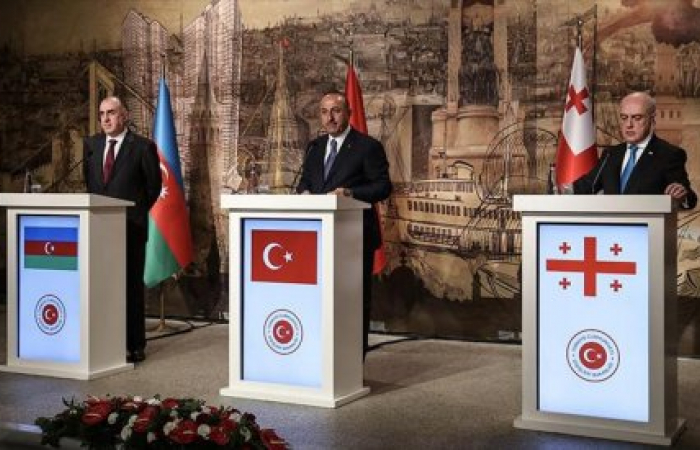 Foreign Ministers of Azerbaijan, Georgia and Turkey met in Istanbul