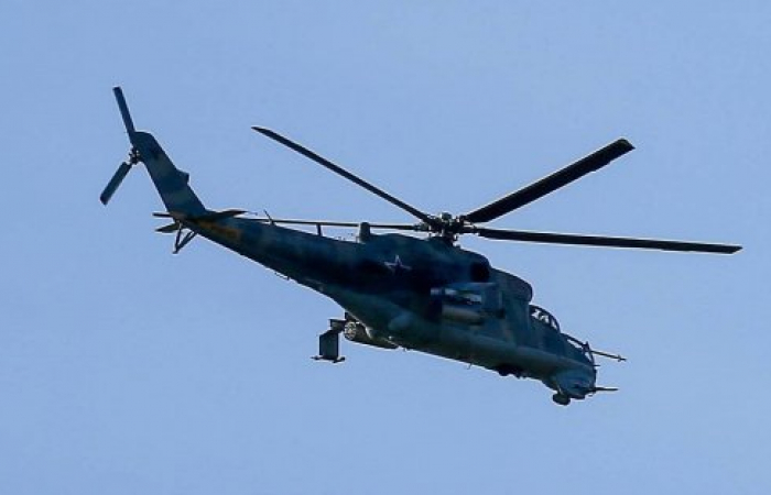 Azerbaijan shoots down a Russian helicopter by mistake