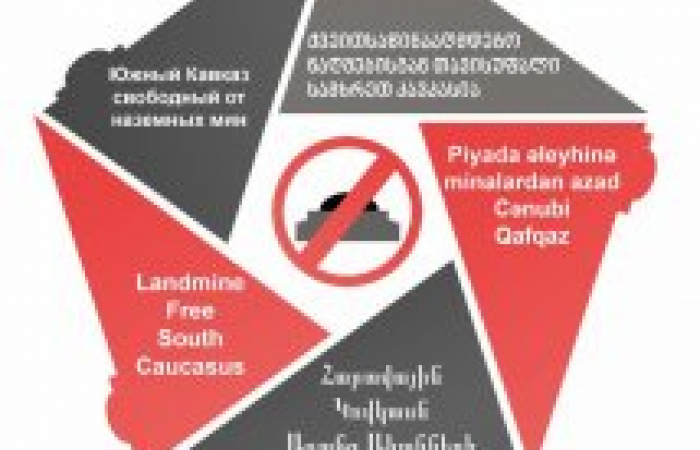 "A region-wide awareness campaign ""Landmine free South Caucasus"" is taking place from 4-10 April 2019. Events are being held in a number of cities and districts of the region, and the campaign features information material in Armenian, Azerbaijani, Georgia"