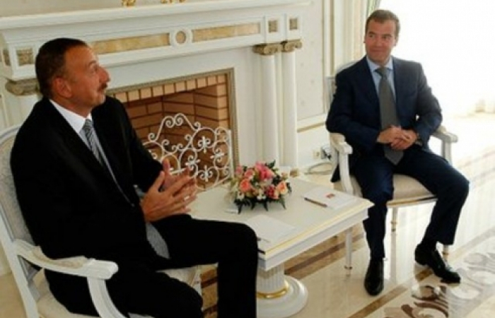 Aliev and Medvedev meet in Sochi