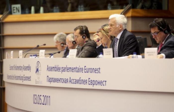 South Caucasus Parliamentarians participate in launch of EURONEST
