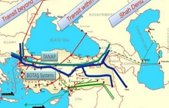 News.az: $10-12 bn to be invested in TANAP project