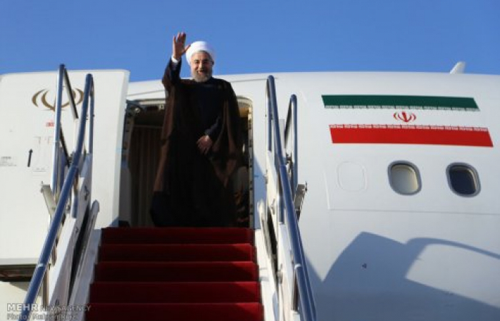 President Rouhani of Iran to visit Armenia on Wednesday