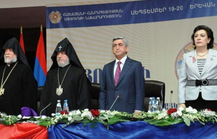 Armenian Diaspora gather for forum in Yerevan to mark 20th anniversary of Armenia's independence